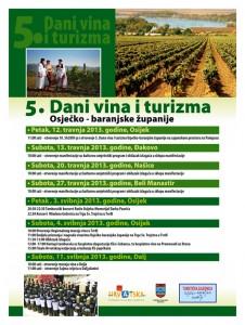 5 dani vina i turizma osječko-baranjske županije