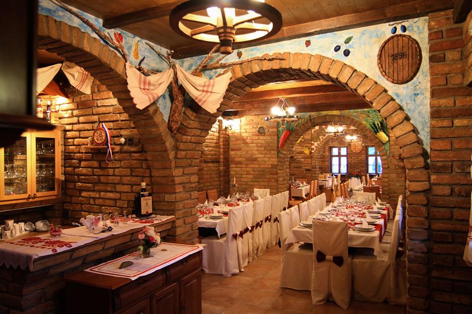 ambijent restorana u Kopacevu