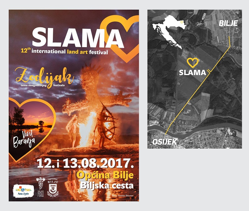 Slama – 12th international land art festival @ Općina Bilje