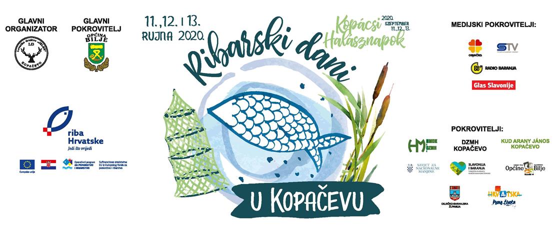 Ribarski dani u Kopačevu 2020